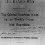 The Reason Why the Colored American Is Not in the World's Columbian Exposition