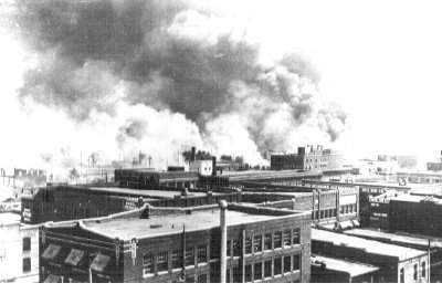 Picture of Greenwood burning